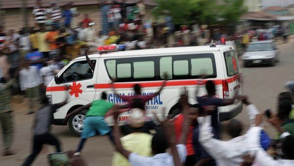 Ambulancia de Nigeria - Sputnik Mundo