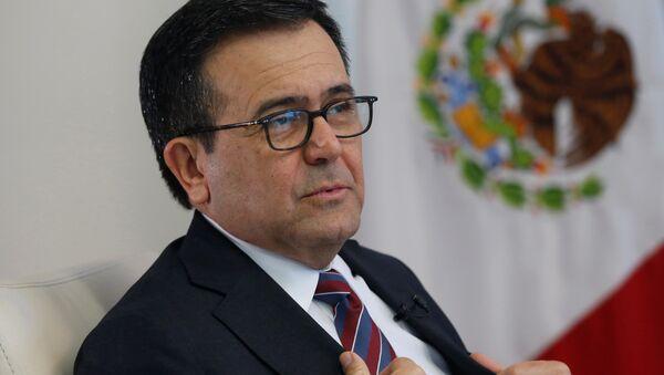 Ildefonso Guajardo, el secretario de Economía de México - Sputnik Mundo