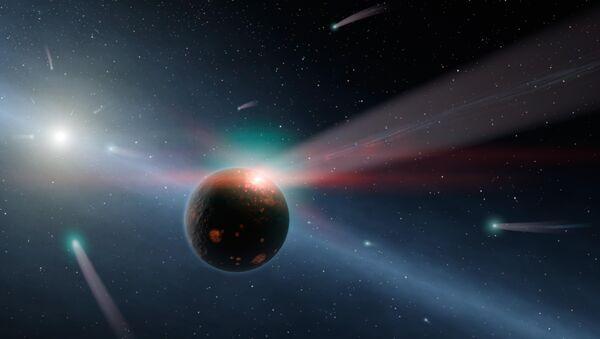 Cometas (imagen referencial) - Sputnik Mundo