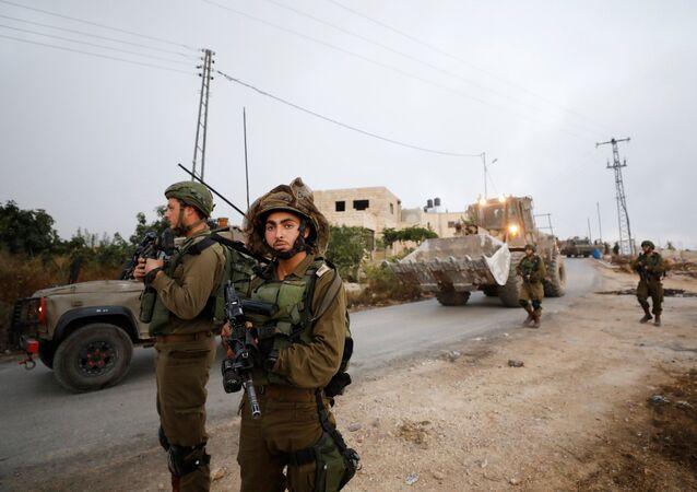 Soldados del Ejército israelí
