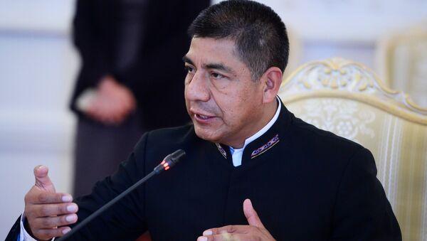 Fernando Huanacuni Mamani, ministro de Exteriores de Bolivia - Sputnik Mundo
