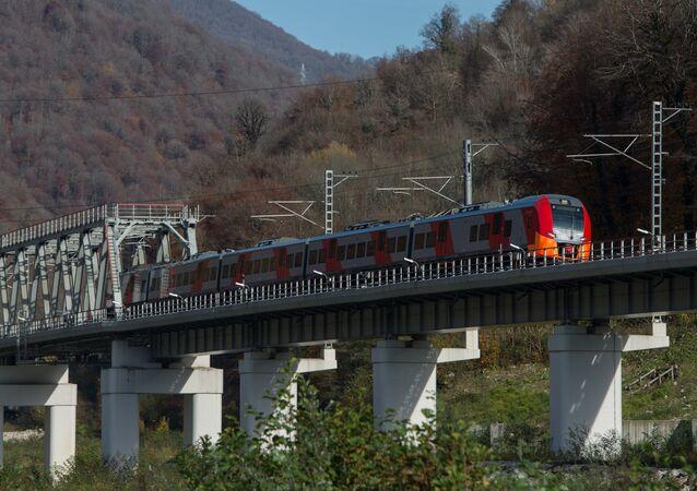 Un tren de alta velocidad ruso (imagen referencial)