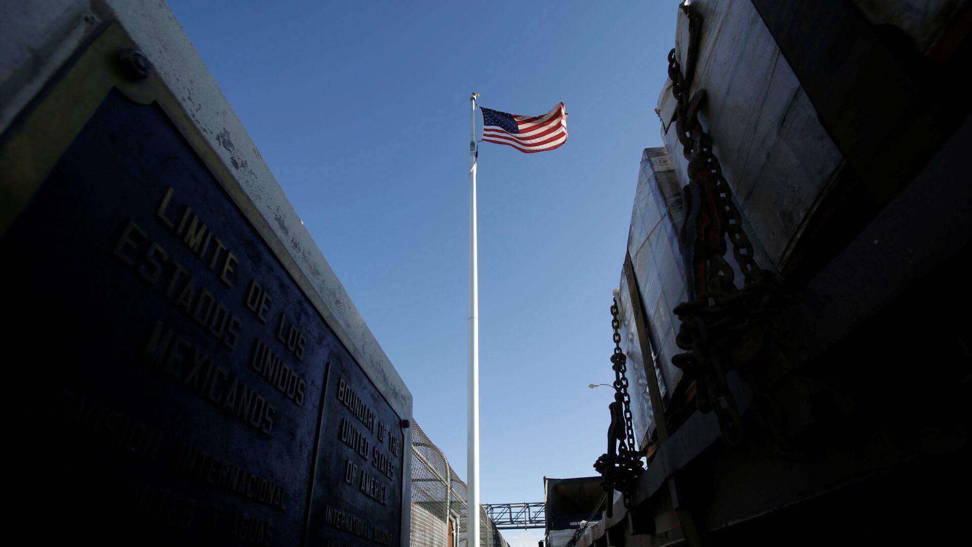 La bandera de EEUU - Sputnik Mundo, 1920, 06.04.2021