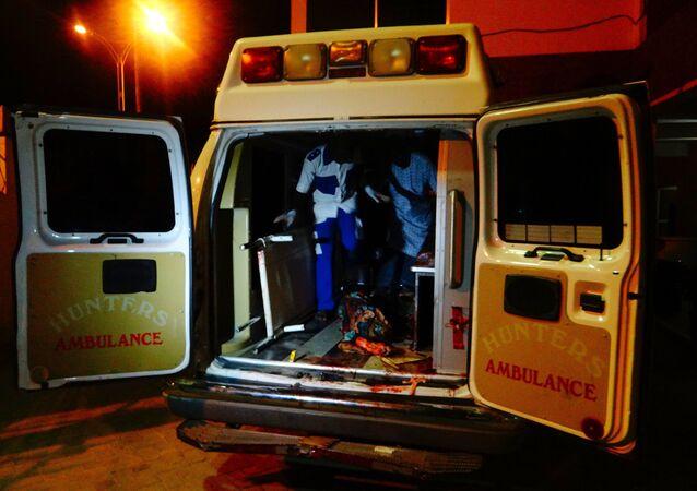 Una ambulancia en Nigeria (Archivo)