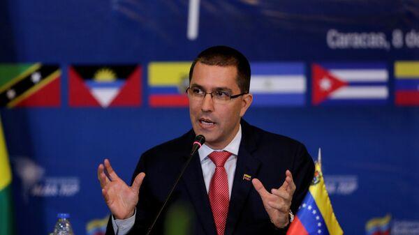 Jorge Arreaza, el canciller venezolano - Sputnik Mundo