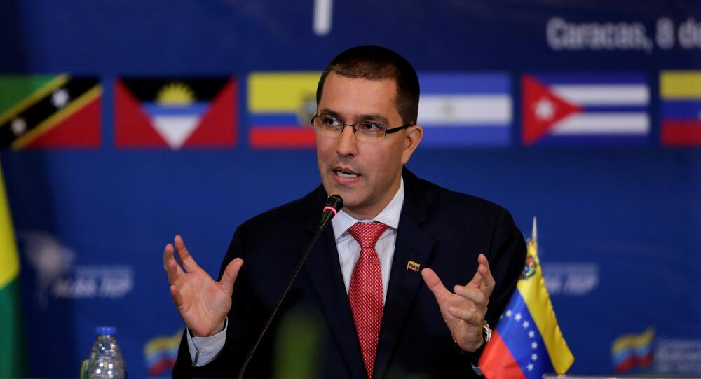 Jorge Arreaza, el canciller venezolano (archivo)