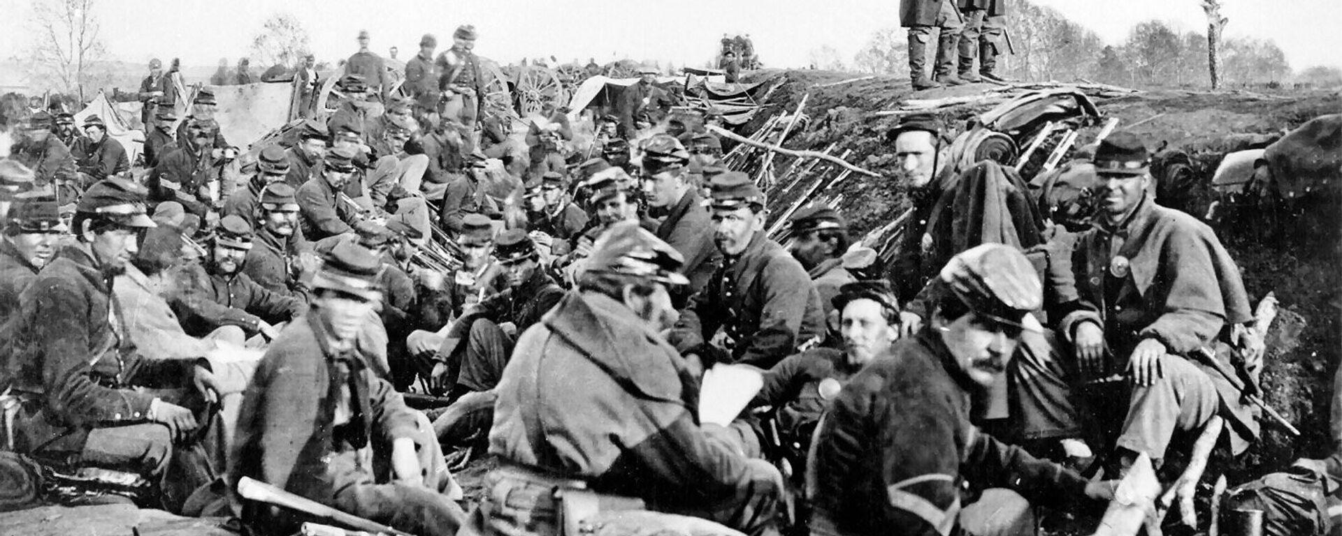 Soldados de la Unión, en 1865 - Sputnik Mundo, 1920, 16.08.2017