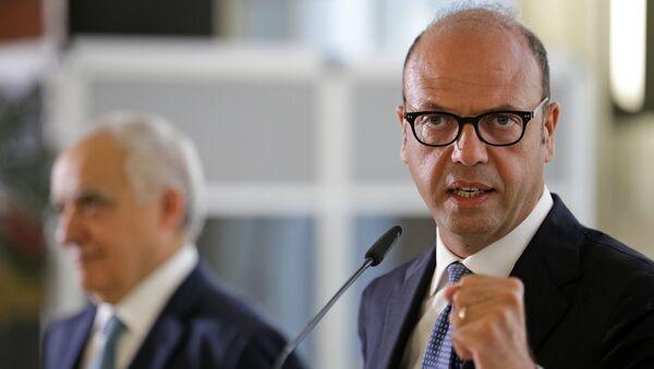 Angelino Alfano, ministro de Exteriores de Italia - Sputnik Mundo