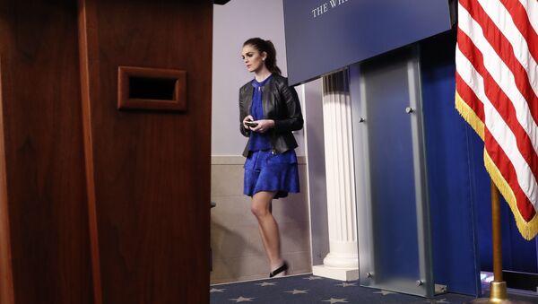 Hope Hicks, secretaria de prensa de la Casa Blanca - Sputnik Mundo