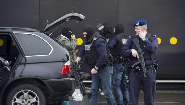Policía de Países Bajos (archivo) - Sputnik Mundo