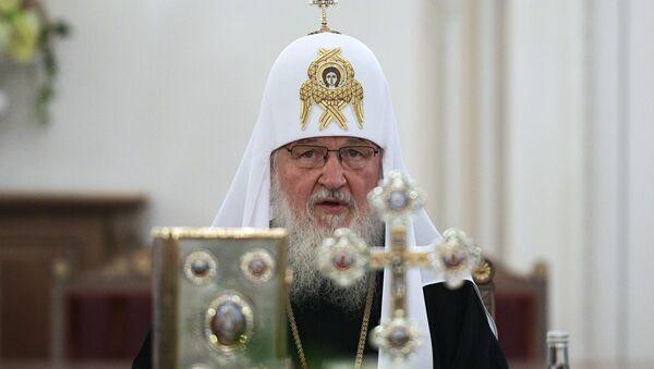 El patriarca de Moscú y toda Rusia Kiril - Sputnik Mundo
