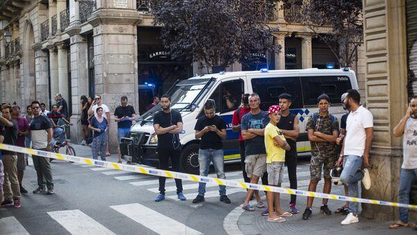 Atentado en Barcelona - Sputnik Mundo