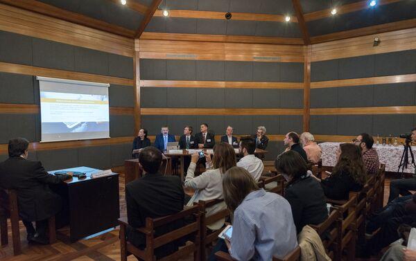 Presentación de SearchInform en la Representación Comercial de Rusia en Buenos Aires - Sputnik Mundo