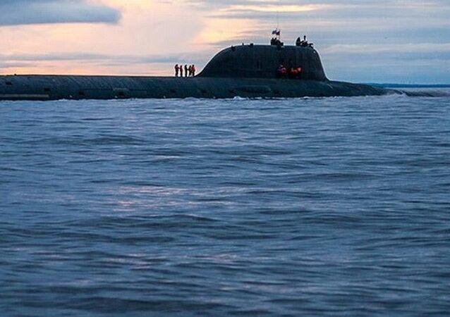 Un submarino de la clase Yasen