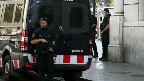 Mossos d'Esquadra, Policía de Barcelona - Sputnik Mundo