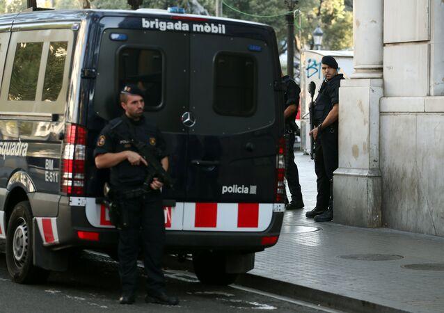 Mossos d'Esquadra, Policía de Barcelona (archivo)