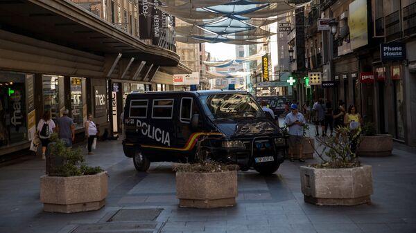 Policía de España en Madrid - Sputnik Mundo