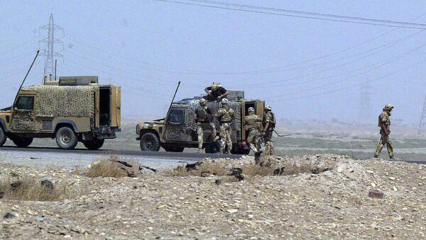 Soldados británicos en Irak (archivo) - Sputnik Mundo