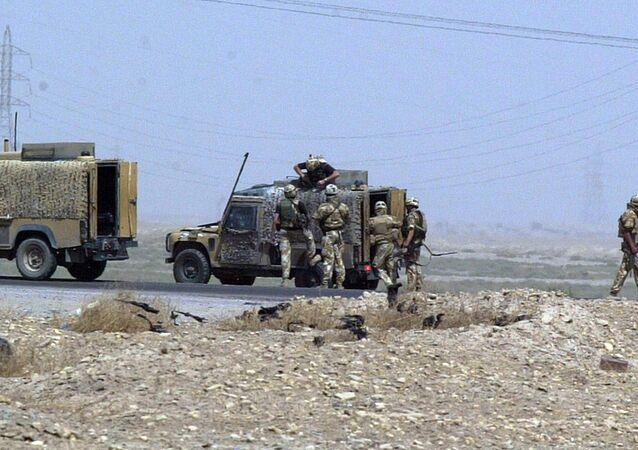 Soldados británicos en Irak (archivo)