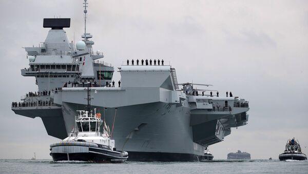 Queen Elizabeth, nuevo portaviones de la Armada del Reino Unido - Sputnik Mundo