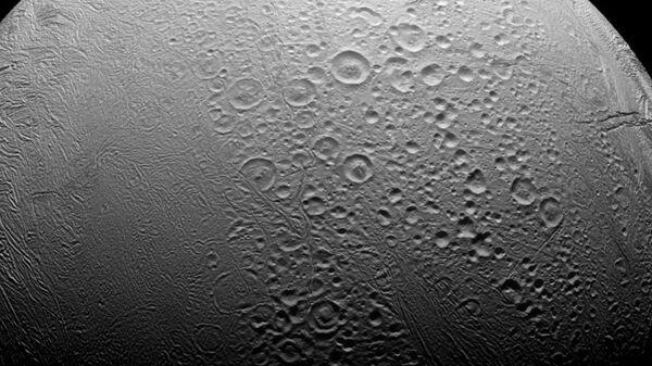 Encélado, satélite de Saturno - Sputnik Mundo