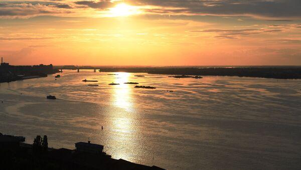 Volga, uno de los mayores ríos de Rusia - Sputnik Mundo