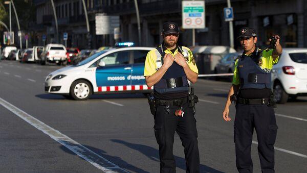 Policía de Barcelona - Sputnik Mundo