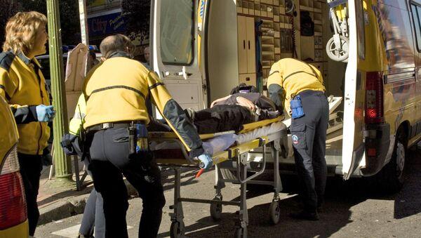Ambulancia española (imagen referencial) - Sputnik Mundo
