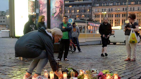Turku, Finlandia, tras el ataque. - Sputnik Mundo