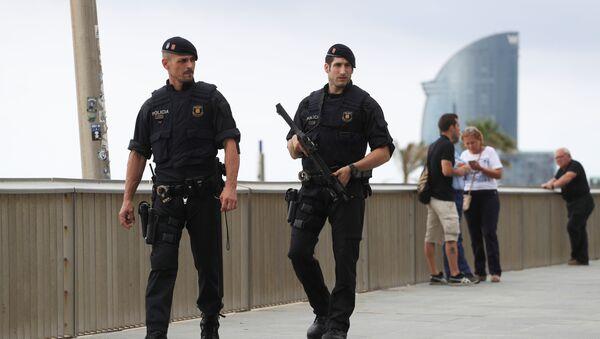 Situación en Barcelona tras el atentado - Sputnik Mundo