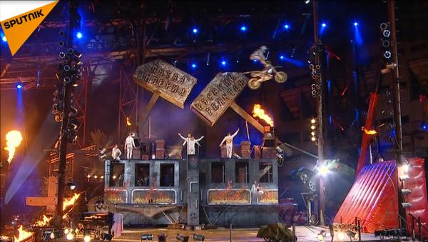 Los Lobos de la Noche presentan un nuevo show en Sebastopol - Sputnik Mundo