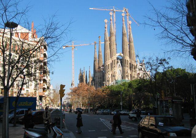 La Sagrada Familia (Barcelona) (archivo)