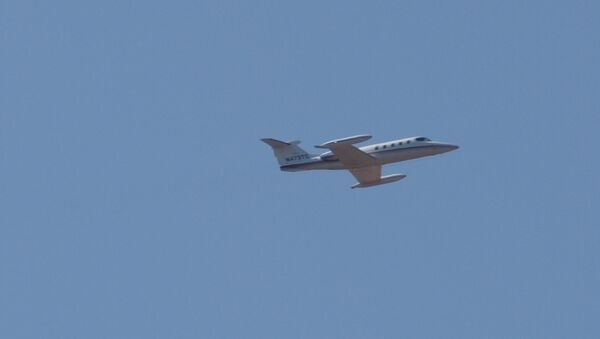 Un jet privado (imagen referencial) - Sputnik Mundo