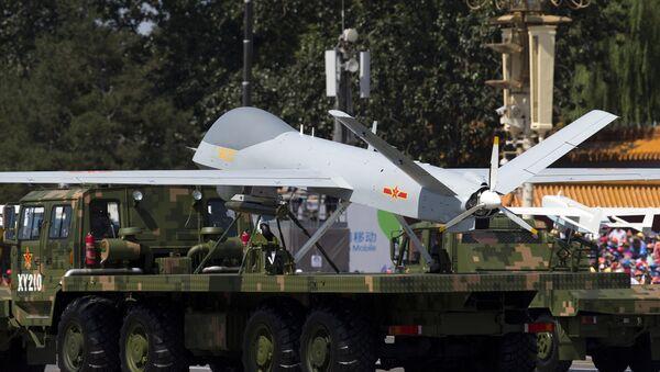 El dron chino Wing Loong (archivo) - Sputnik Mundo