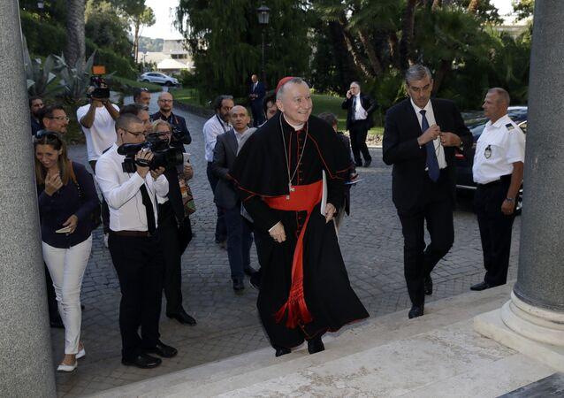 El secretario de Estado del Vaticano, cardenal Pietro Parolin