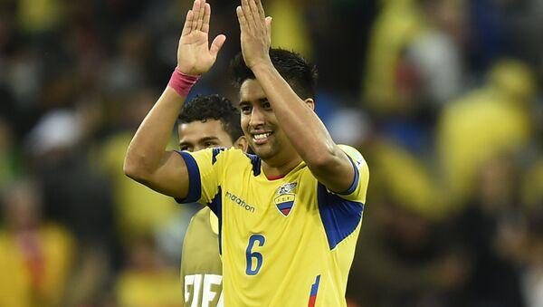 Cristhian Noboa, futbolista mediocampista ecuatoriano jugador del F.C. Zenit - Sputnik Mundo