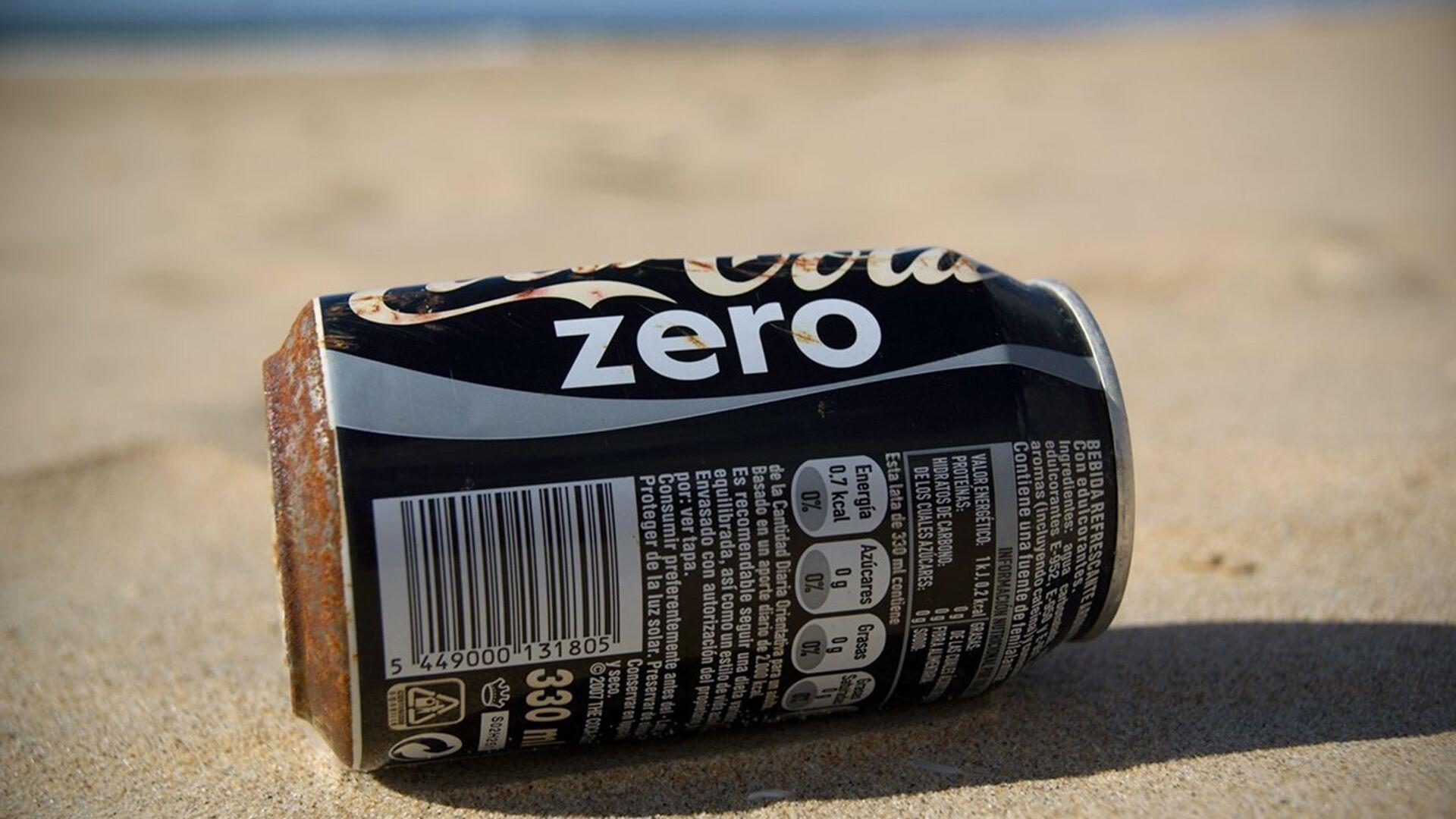 Coca-Cola Zero - Sputnik Mundo, 1920, 05.08.2021