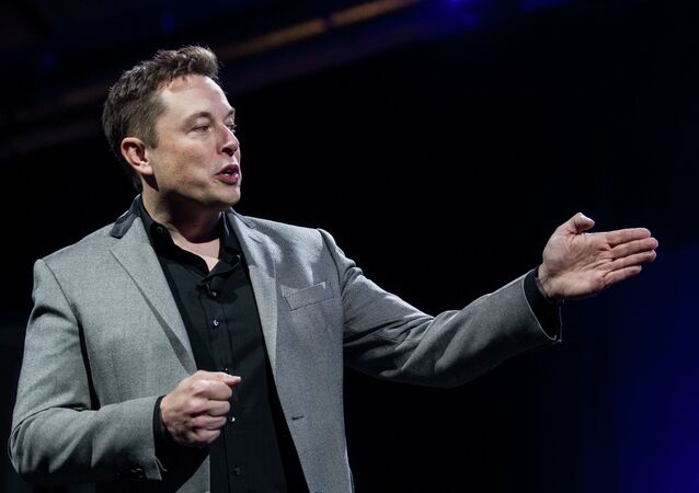 Elon Musk, director jefe de Tesla Motors y SpaceX