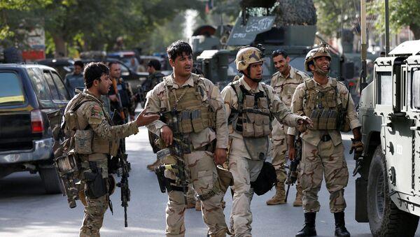 Las fuerzas de seguridad de Afganistán - Sputnik Mundo