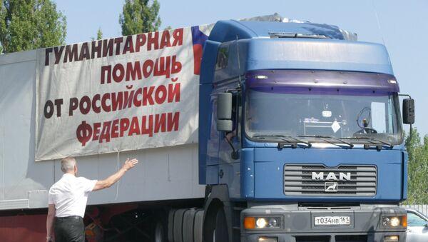 Ayuda humanitaria rusa para Donbás - Sputnik Mundo