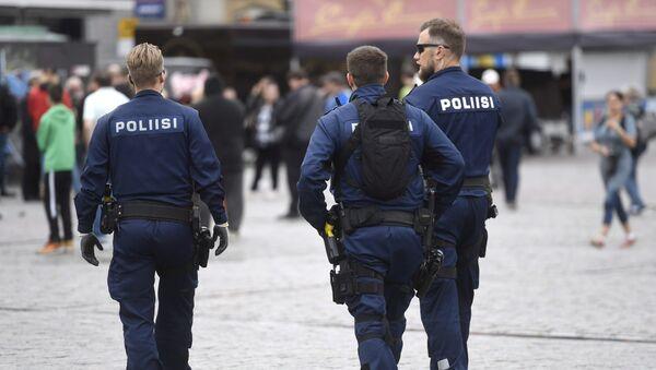 Policía de Finlandia - Sputnik Mundo