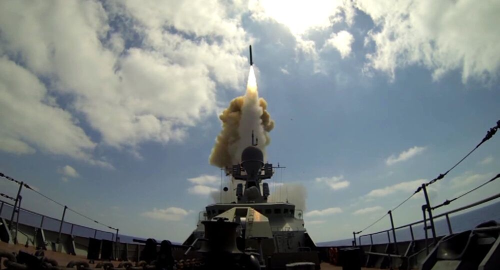 El lanzamiento del Kalibr en Siria