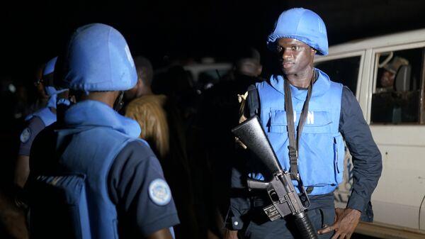 Soldados de la Misión Multidimensional Integrada de Estabilización de las Naciones Unidas en Malí (archivo) - Sputnik Mundo