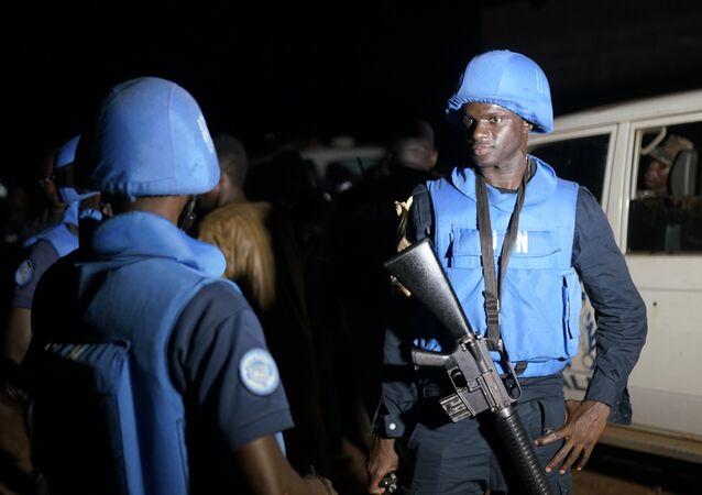 Soldados de la Misión Multidimensional Integrada de Estabilización de las Naciones Unidas en Malí (archivo)