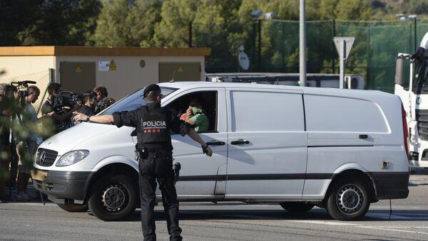 Los Mossos d'Esquadra, la policía catalana - Sputnik Mundo