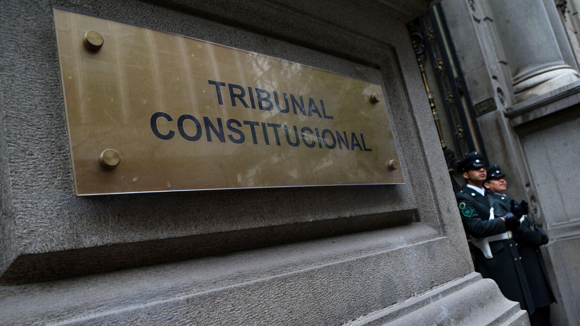Tribunal Constitucional de Chile - Sputnik Mundo, 1920, 27.04.2021