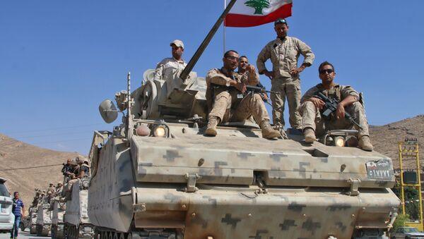 Soldados del Ejército de Líbano - Sputnik Mundo