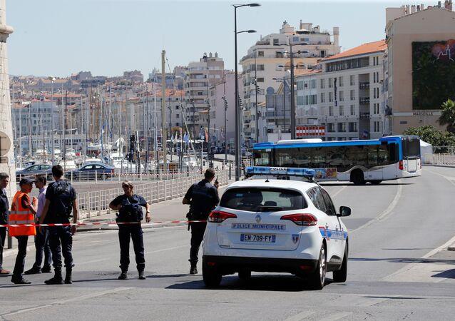 Policía francesa (imagen referencial)