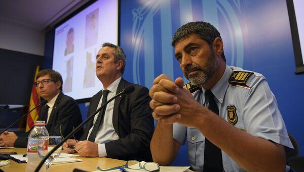 El comisario jefe de la Policía catalana, Josep Lluís Trapero - Sputnik Mundo