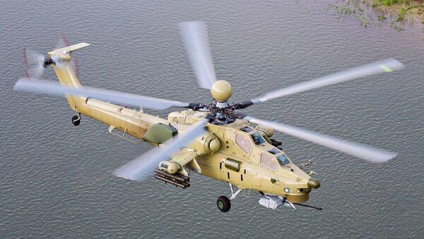 El helicóptero Mi-28UB - Sputnik Mundo